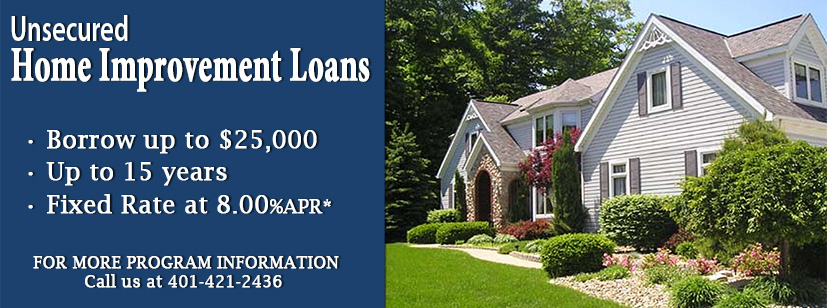 Unsecured Home Improvement Loan
