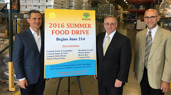 RI Summer Food Drive 2016