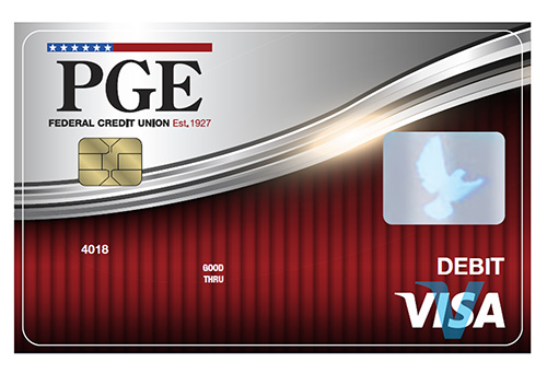 PGE Credit Union Debit Card